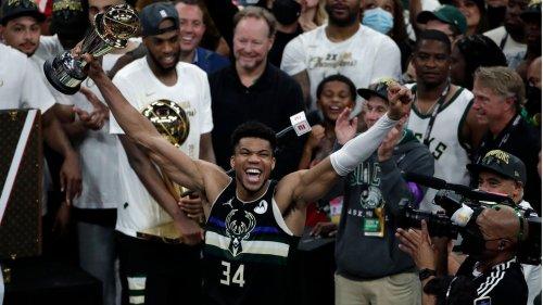 """Mit 50 Punkten führt """"Greek Freak"""" die Milwaukee Bucks zum zweiten NBA-Titel"""
