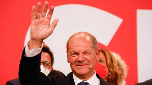 Hochrechnungen sehen Olaf Scholz als Sieger – Grüne wollen zunächst mit FDP sprechen