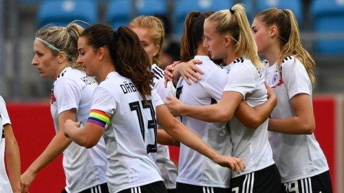 Vier Tore von Lea Schüller: DFB-Frauen schlagen Serbien deutlich