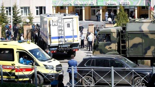 Mindestens elf Tote: Ehemaliger Schüler soll das Blutbad in Kasan angerichtet haben
