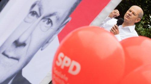 """ZDF-""""Politbarometer"""" drei Tage vor der Wahl: SPD hält leichten Vorsprung vor der Union"""