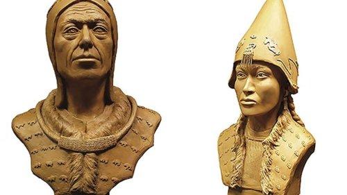 """So sahen der """"sibirische Tutanchamun"""" und seine Geliebte aus"""