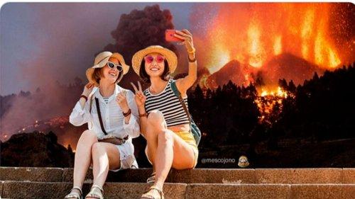Vulkanausbruch auf Kanareninsel: Spaniens Tourismusministerin hofft auf Schaulustige