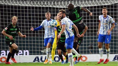 Trotz Fürth-Führung: Hertha BSC holt zweiten Saisonsieg