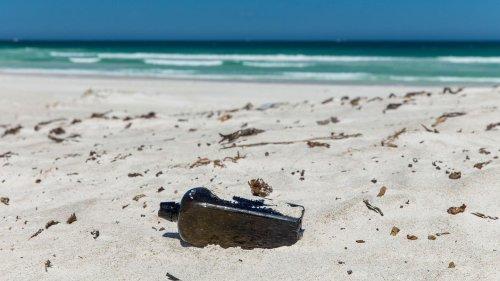 Ende eines Experiments: Flaschenpost dümpelt 37 Jahre lang durch den Pazifik