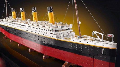Neues Lego-Set aus 9000 Teilen: Wer die Titanic bauen will, muss tief in die Tasche greifen