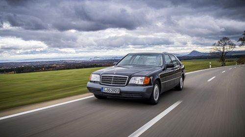 Die Mercedes S-Klasse W 140: Der Inbegriff der fetten Kohl-Jahre wird Oldtimer