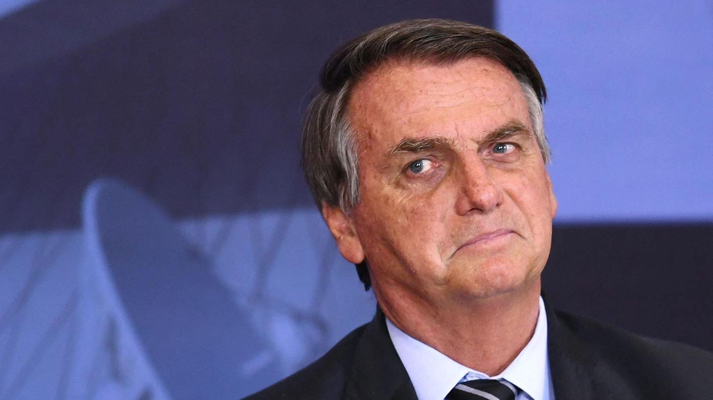 Presidente Jair Bolsonaro. (Foto: Reprodução/Evaristo Sá/AFP)