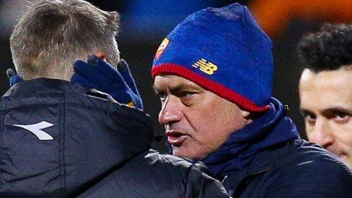 Blamage für Startrainer Mourinho: AS Rom verliert mit 1:6 gegen FK Bodö/Glimt