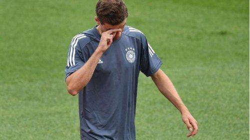 Kurz vor Spiel gegen Ungarn: Einsatz von Thomas Müller steht weiter auf der Kippe