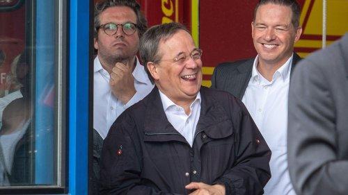 """Armin Laschet über sein Lachen im Katastrophengebiet: """"Es war blöde"""""""