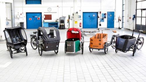 """Elektro-Lastenräder: nur zwei schneiden """"gut"""" ab – eins fällt krachend durch"""