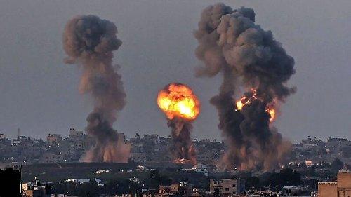 Israel weitet Militäreinsatz gegen Hamas aus – militante Palästinenser feuern 1600 Raketen auf israelisches Gebiet ab
