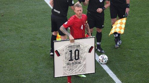 """Christian Eriksen schreibt dänischen Teamkollegen nach Belgien-Spiel: """"Ihr wart unglaublich"""""""