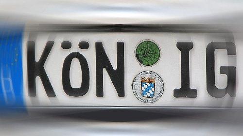 """Kein """"MO-RD"""" in Moers: Verbotene Autokennzeichen in Deutschland"""