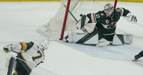 Kirill Kaprizov's two quick goals force overtime, but Wild loses 3-2 to Vegas