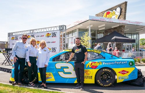 Andy's Frozen Custard Expands Motorsports Initiative