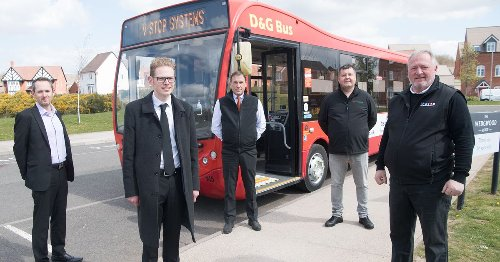 Stoke-on-Trent bus company launches Covid-safe disinfecting fogging system