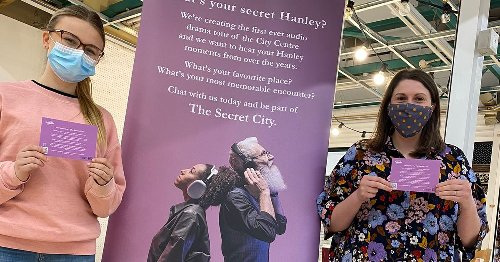 Tell us your Hanley secret! New audio walking tour coming to the city centre