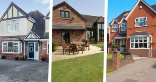 Five houses in stunning locations for sale in North Staffordshire