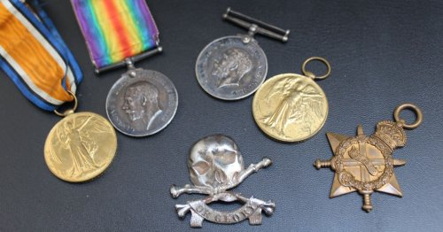 WW1 medals honouring bravery of two soldiers are to go under the hammer