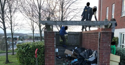 Angry Andrew demands action as youths run riot on Stoke-on-Trent 'gated' estate