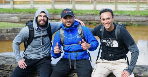 Corrie and Emmerdale stars stop off in North Staffs during charity challenge
