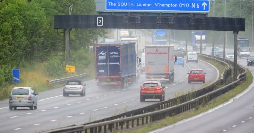Stoke-on-Trent firm linked to footballer fined after Rolls Royce raced on M6