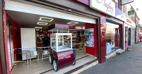 Watch as 'irate customer rams car into bakery in pastie row'