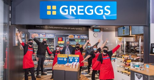 Bakery giant Greggs opens its latest branch - and here's where