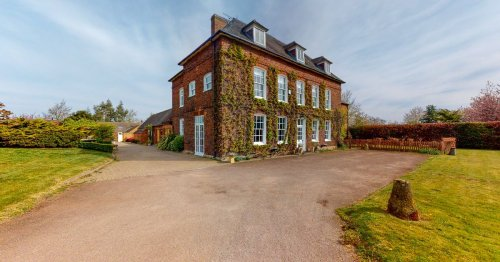 Staffordshire mansion that belonged to Sir Robert Peel up for sale