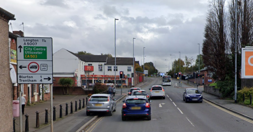 Witness appeal after Audi driver leaves Stoke-on-Trent crash scene