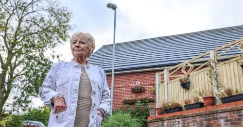 Hilda, 83, wins eight-month fight to fix streetlight as landlord says sorry