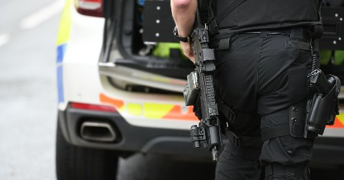 Woman, 26, arrested after armed police swoop on Stoke-on-Trent street