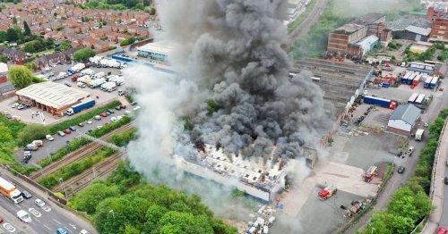 Industrial blaze