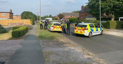Man dies after 'falling off his bike'