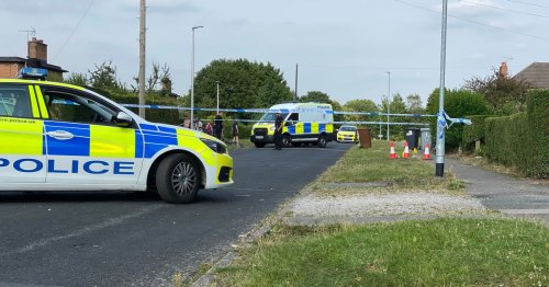 LIVE: Police cordon off road as 10 emergency vehicles on scene