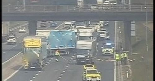 Chaos on M6 after crash leaves motorists stranded for hours