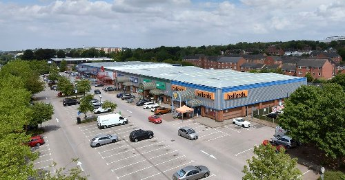Stoke-on-Trent retail park home to B&M and McDonald's sold off