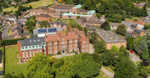 One of Staffordshire's top boarding schools back up for sale