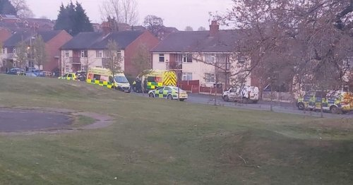Police and paramedics called as woman dies at North Staffordshire house