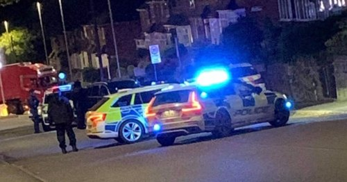 Stoke-on-Trent shooting: Armed police called after 'man shot'