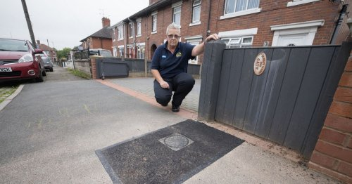 NHS driver slams water firm after workmen leave her £1.6k dropped kerb like this