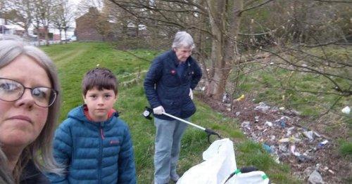 Meet the volunteers cleaning up their community through regular litter picks