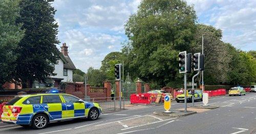 Boy, 15, arrested after Stoke-on-Trent park stabbing