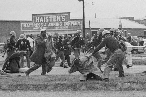 Biden marks 'Bloody Sunday' by signing voting rights order