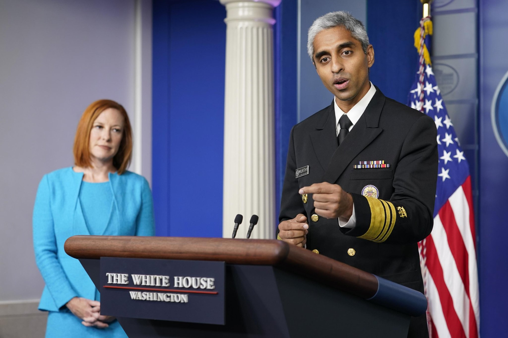 Surgeon general urges US fight against COVID misinformation