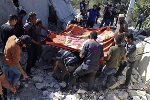 Syria: Government forces hit last rebel enclave killing 9 civilians » Wars in the World