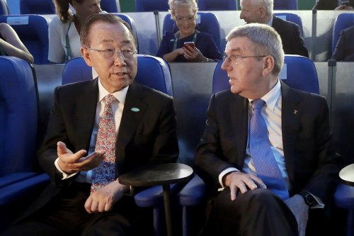 Ban Ki-moon asked to act on complaint against Beijing Games
