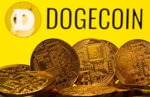 Meme-based cryptocurrency Dogecoin soars 40% to all-time high